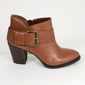 Steven by Steve Madden LeatherFairlow Ankle Boots